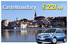 Castelnaudary Car Rental